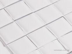 Πανί με 20 μαξιλάρια από άσπρο νάπα με 2 εσοχές
