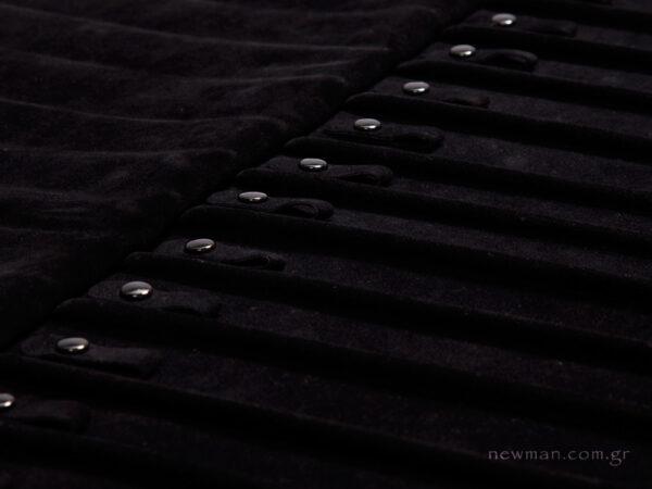 Πανί με κουμπί-κλιπ για αλυσίδες