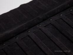Internal black suede lining
