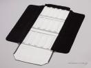 Μαύρη δερματίνη εξωτερικά & άσπρο νάπα εσωτερικά