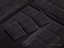 Εσωτερική φόδρα και μαξιλάρια από μαύρο σουέτ