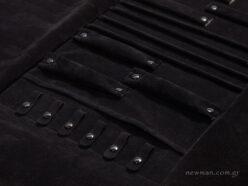 Μαύρη σουέτ εσωτερική φόδρα