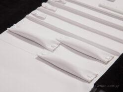 Μαξιλάρια ρολάκια για δαχτυλίδια