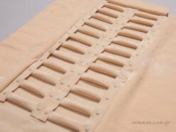 Πανί με 24 μαξιλαράκια/ρολάκια για δαχτυλίδια