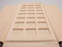 Πανί με τετράγωνα αφρολέξ για διάφορα μοτίφ