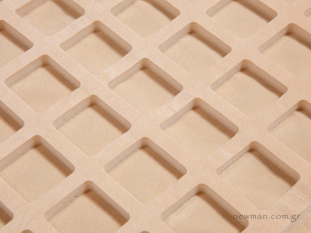 Θέσεις τετράγωνα αφρολέξ universal