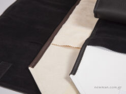 High-quality pleather, suede, doeskin and nappa fabrics
