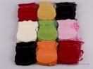 Πουγκί βελούδο οβάλ χρώματα Νο2