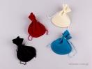 Πουγκί βελούδο οβάλ χρώματα Νο3