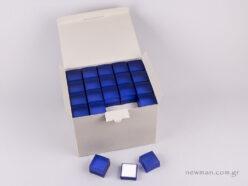 Κουτί Ημιδιάφανο για Δαχτυλίδι Μπλε Ηλεκτρίκ