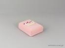 Κουτί για σταυρό σε ροζ χρώμα με κορώνα που γράφει Princess