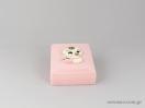 Κουτιά για παιδικά κολιέ και σταυρούς σε ροζ χρώμα