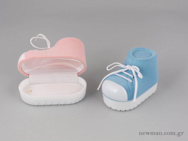Παιδικό κουτί κοσμημάτων σε σχήμα παπουτσιού