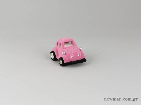 Kids Box - Scarab VW Car - Pink
