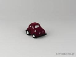 Kids Box - Scarab VW Car - Burgundy