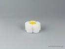 Παιδικό κουτί κοσμημάτων σε λευκό χρώμα και σχέδιο λουλούδι