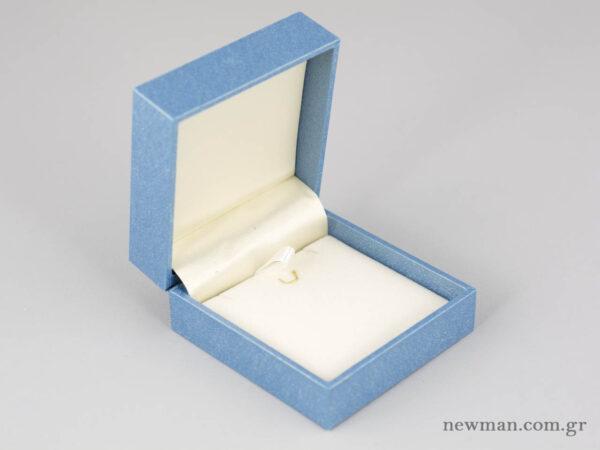 Κουτί elegant με κρίκο και σχισμές για σταυρούς και σκουλαρίκια