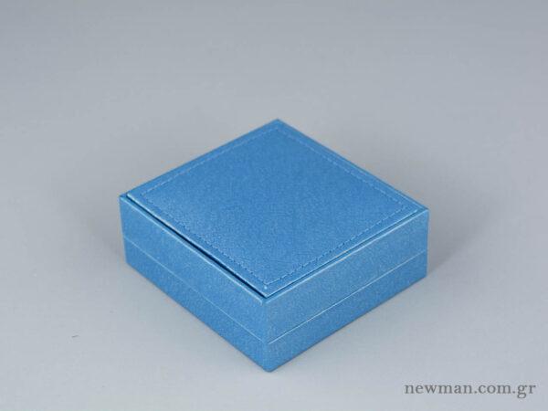 Παιδικό κουτί Εlegant metal για σταυρούς σε σιέλ χρώμα