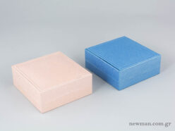 Elegant Metal Kids Box for Cross - Light Blue & Pink