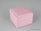Υφασμάτινο κουτί κοσμημάτων με κορδέλα και μαξιλαράκι