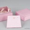 Υφασμάτινο κουτί κοσμημάτων για σταυρό, σκουλαρίκια, φυλαχτό