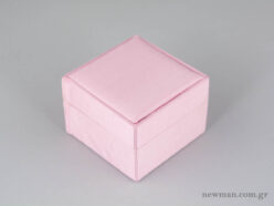 Kids Box with Fabric for Cross/Earrings - Light Pink