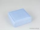 Υφασμάτινο κουτί κοσμημάτων σιέλ