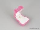 Παιδικό κουτί για κοσμήματα σε ροζ χρώμα και σε σχήμα αρκουδάκι