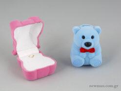 Παιδικό κουτί για κοσμήματα σε σχήμα αρκουδάκι