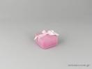 Τετράγωνα κουτιά παιδικών κοσμημάτων σε ροζ χρώμα