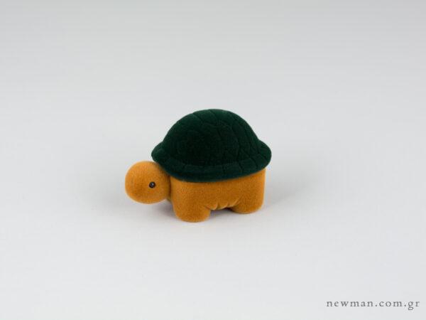 Παιδικό κουτί κοσμημάτων για δαχτυλίδι σε σχήμα χελωνάκι