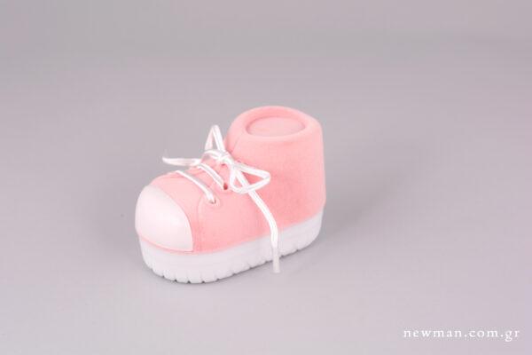 Κουτί κοσμημάτων παιδικό. Ταυτότητας - Παπούτσι Ροζ