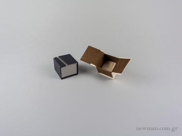 Οικολογικό κουτί κοσμημάτων με γάντζο για φαρδύ δαχτυλίδι με κωδικό 051901 στο newman.com.gr