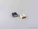 Οικολογικό κουτί κοσμημάτων με κρίκο για μενταγιόν και εγκοπές για σκουλαρίκια με κωδικό 051902 στο newman.com.gr
