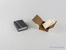 Οικολογικό κουτί κοσμημάτων με κρίκο για μενταγιόν και εγκοπές για σκουλαρίκια με κωδικό 051905 στο newman.com.gr