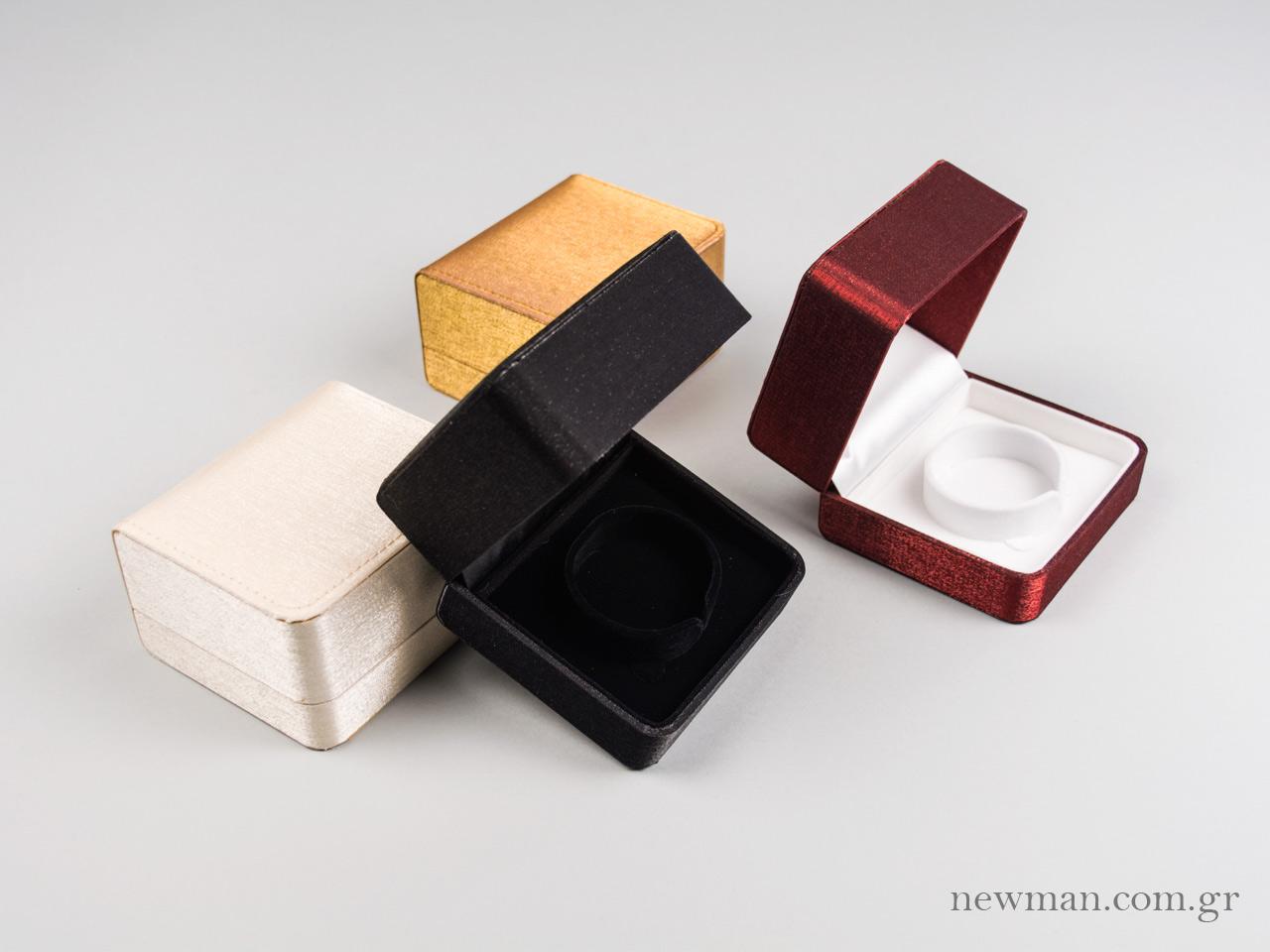 Rtls05 Silk Satin Jewellery Box For Bracelet 100x85x56mm Open
