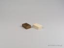 000497 κουτί κοσμημάτων κρίκος / σκουλαρίκι της σειράς Δερματίνη L στο newman.com.gr