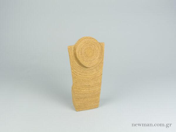 Μπούστο για κολιέ από σχοινί με ύψος 30 εκ