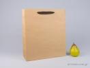 800405 χάρτινη τσάντα kraft με λαβές φακαρόλα σε 4 χρώματα