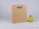 800418 τσάντα χάρτινη με λαβές φακαρόλα σε 4 χρώματα