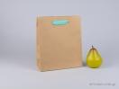 800425 τσάντα χάρτινη με λαβές φακαρόλα σε 4 χρώματα