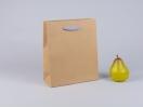 800429 τσάντα χάρτινη με λαβές φακαρόλα σε 4 χρώματα