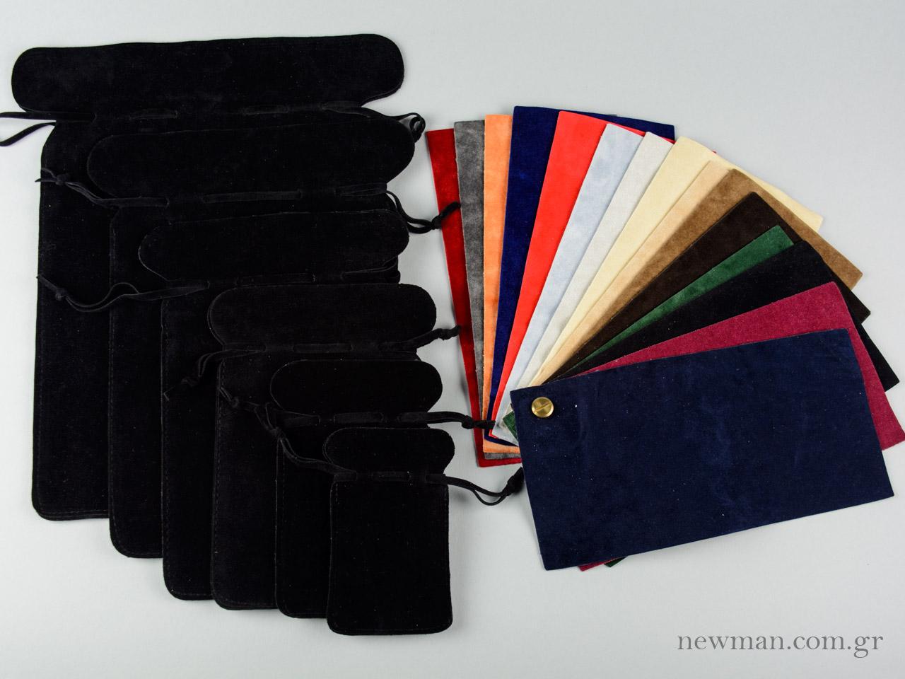 pougkia suede nova 6 sizes 15 colors