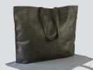 Υφασμάτινη τσάντα non woven με πιέτα στο κάτω μέρος και μακρύ χεράκι look σε διαστάσεις 55×40 cm στο newman.com.gr