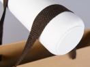 Λεπτομέρειες για τη χάρτινη τσάντα kraft με λαβές φακαρόλα
