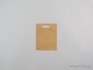 Τσάντες non woven με χούφτα 20×25 εκ. εκρού – σκούρο μπεζ