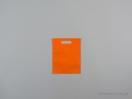 Τσάντες non woven με χούφτα 20×25 εκ. πορτοκαλί