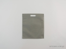 Υφασμάτινες τσάντες non woven με χερούλι χούφτα σε διαστάσεις 30×35 εκ. γκρι