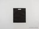 Υφασμάτινες τσάντες non woven με χερούλι χούφτα σε διαστάσεις 30×35 εκ. μαύρο
