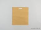 Υφασμάτινη τσάντα non woven 35×40 εκ. σκούρο μπεζ εκρού